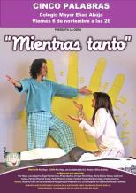 CINCO PALABRAS CARTEL TEATRO