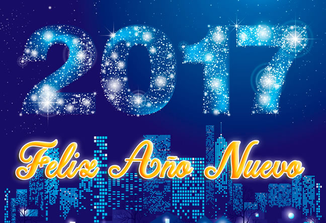 Feliz Año Nuevo 2017
