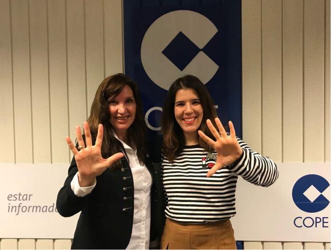 ESCRIBE TU RELATO DE ABRIL (III): el equipo @COPEMasMadrid de @cope_es con @BeatrizPOtin