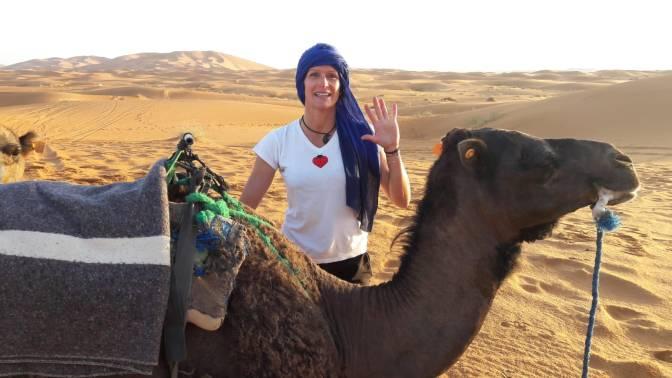 EL PRÓLOGO DEL MES DE ENERO: Anita  Miñón, emprendedora y aventurera